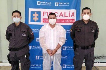 Fernando Trujillo, alias 'El Padrino', acusado de vender carne de caballo y burro en Bucaramanga.