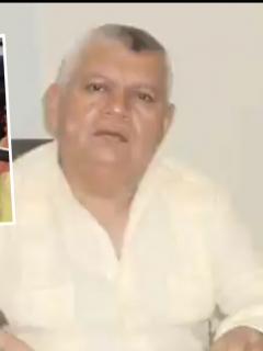 """Luis Alberto Tete Samper, alcalde de Ciénaga, Magdalena, quien habría amenazado a vendedores ambulantes de la ciudad con la frase """"veo quién es y le empujo un tiro""""."""