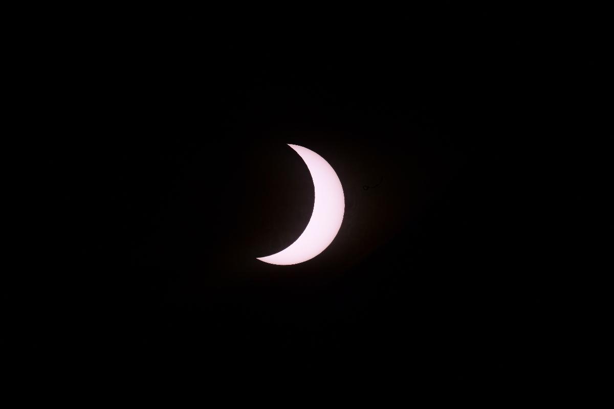 Vea en vivo la transmisión de la NASA del eclipse solar hoy.