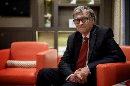 Bill Gates, quien aseguró que la pandemia del coronavirus empeoraría en los próximos meses, antes de un evento público.