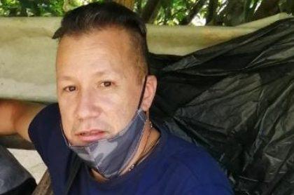 Héctor Antonio Mejía, desaparecido en Antioquia.