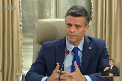Leopoldo López fue invitado de Duque en 'Prevención y Acción'