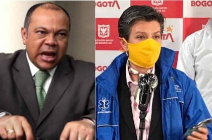 Asesinato en SITP: pelea entre papá de Colmenares y Claudia López.