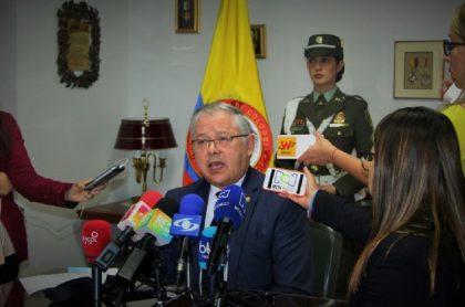El expresidente de la Corte Suprema, José Luis Barceló.