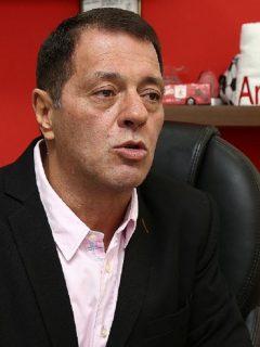 Tulio Gómez, presidente del América de Cali, quien habló sobre el VAR y el COVID-19.