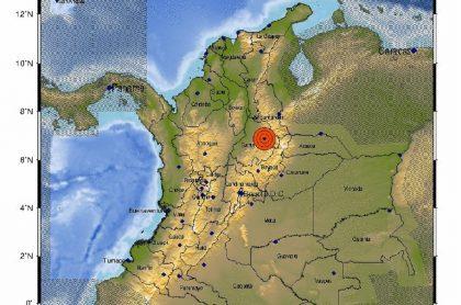 Un temblor con magintud inicial de 5,2 se presentó la noche de este miércoles 16 de diciembre en el centro del país.