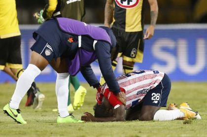 Jugador de Junior lamenta eliminación de Copa Sudamericana, ilustra nota de periodista barranquillero que denuncia montaje que insulta a colega