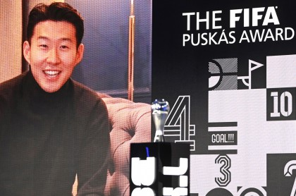 Heung-Min Son, coreano del Tottenham, gana Premio Puskas de la Fifa por gol a lo Maradona