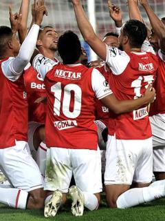 Santa Fe, primer clasificado a la Superliga de 2021. Imagen de referencia del equipo 'cardenal'.