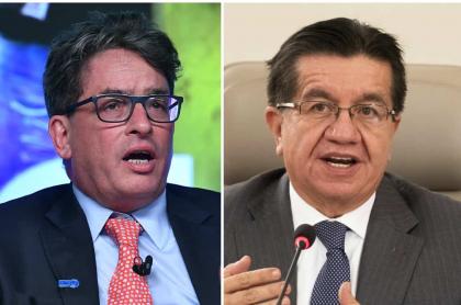Alberto Carrasquilla y Fernando Ruiz, los ministros peor y mejor calificados, respectivamente, en encuesta CNC.