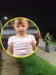 Sofía Cadavid, de 18 meses, hallada muerta y operativo de la búsqueda de ella que hizo la Policía