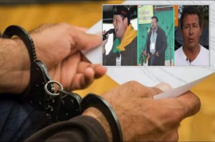 Congresistas defienden a los capturados Teófilo Acuña, Adelso Gallo y Robert Daza Guevara, y aseguran que no son guerrilleros del Eln