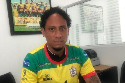 Juan Pablo Pinto, jugador con un polémico pasado, es presentado como refuerzo del Real Cartagena.