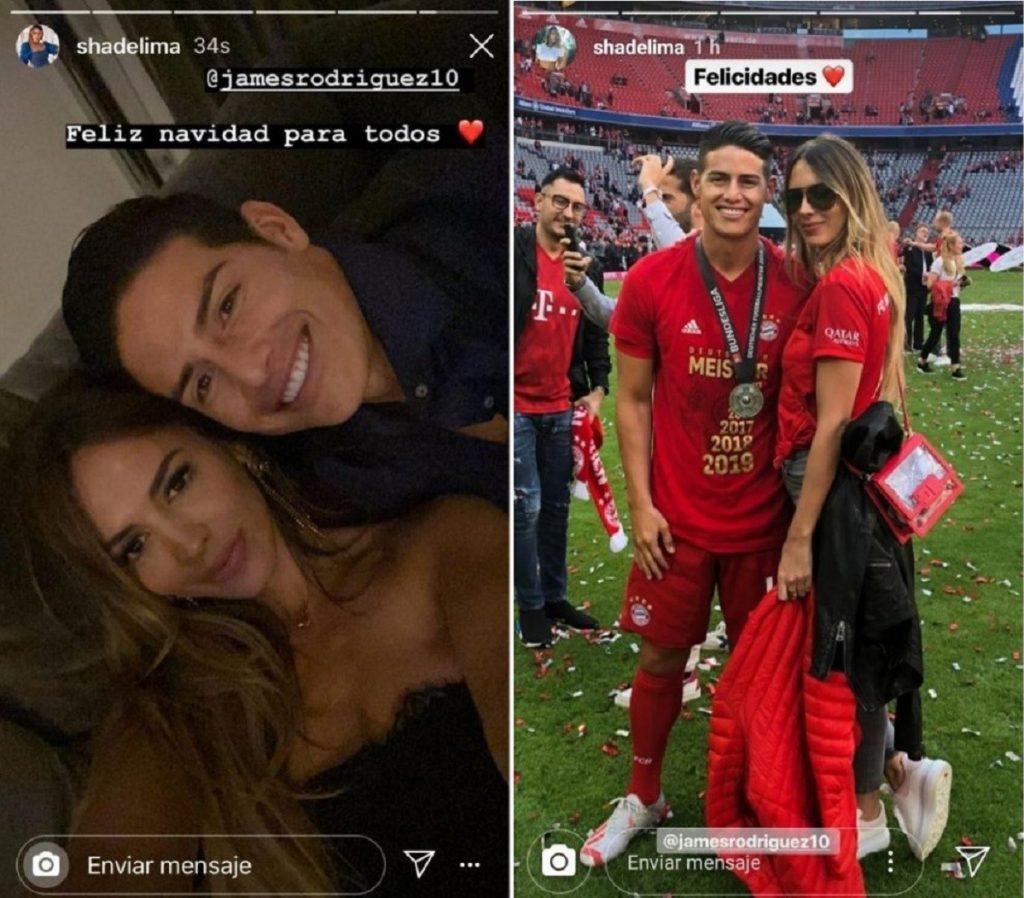 Capturas de pantalla historias de Instagram shadelima.