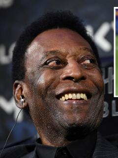 El exfutbolista brasilero Edson Arantes do Nascimento, 'Pelé', felicitó al argentino Lionel Messi por igualar su récord de goles con el mismo equipo.