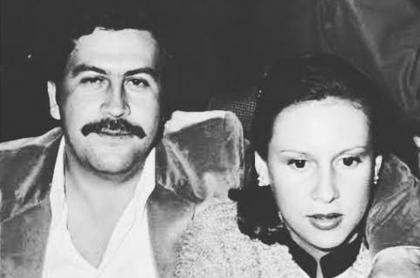 Pablo Escobar y Victoria Eugenia Henao (hoy María Isabel Santos Caballero)