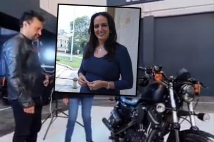 Julián Román y María Fernanda Cabal discuten por una Harley