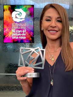 Foto de Amparo Grisales, quien criticó a 'Ni con el pétalo de una rosa'