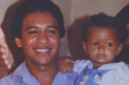 Diomedes Díaz con su hijo Rafael Santos Díaz, quien le contó a Pulzo la historia de 'Mi muchacho'.