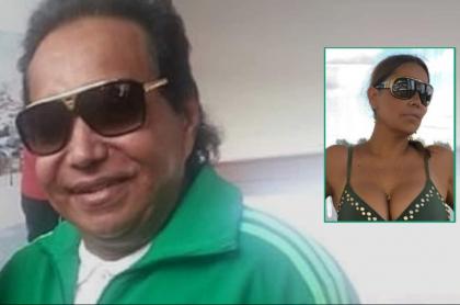 Diomedez Díaz y su viuda, Consuelo Martínez, quien le dedicó sentido mensaje en su aniversario de muerte junto a una foto amorosa.