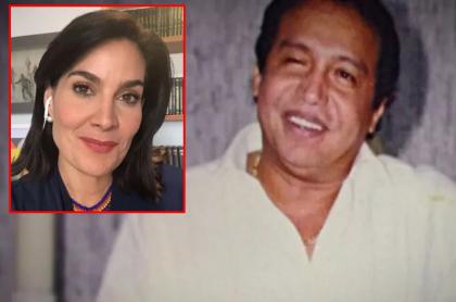 Diomedes Díaz y Vanessa de la Torre, quien aseguró que no recuerda al cantante vallenato de la mejor manera