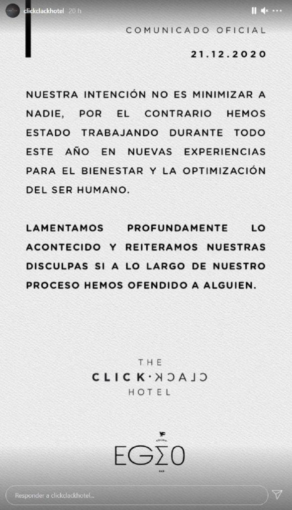Instagram @clickclackhotel