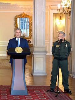 ¿Quién es Jorge Luis Vargas, el nuevo director de la Policía Nacional?