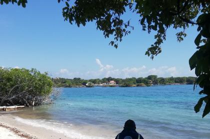 Playa en Islas del Rosario