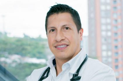Foto de Otmaro Belalcazar, endocrinólogo de Lina Tejeiro, quien dio claves para perder peso