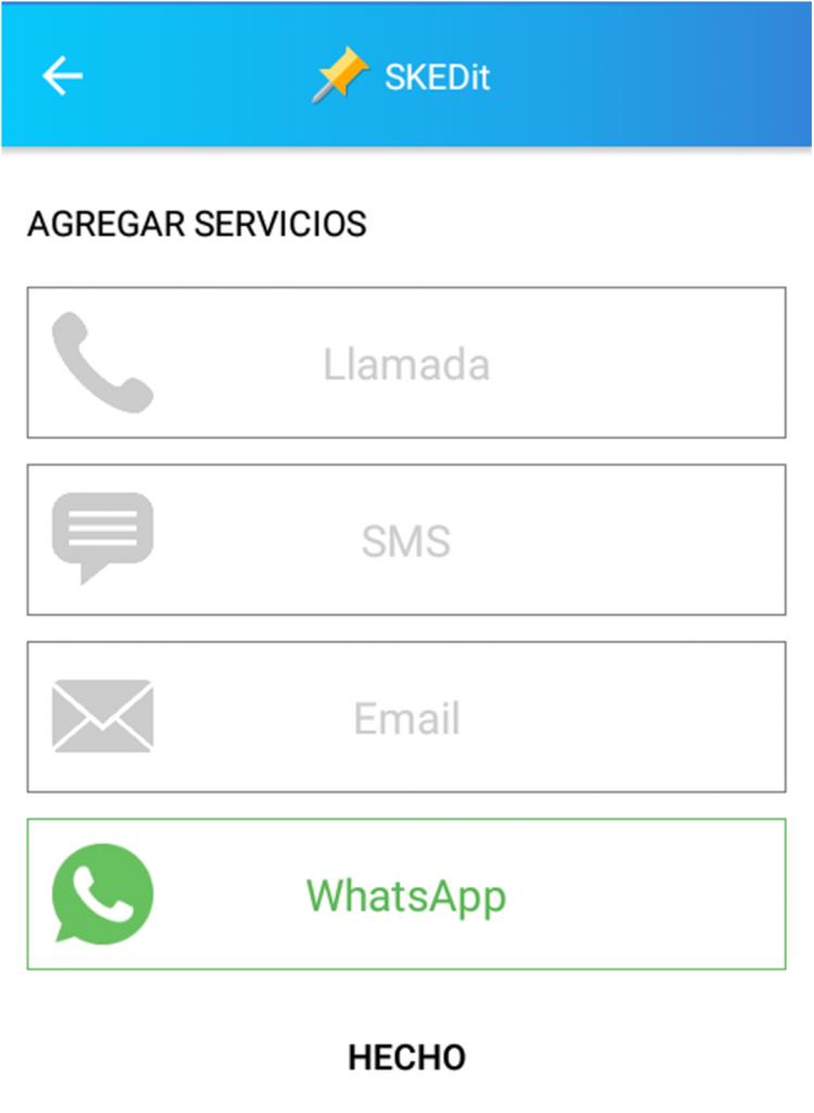 Captura de pantalla de SKEDit Scheduling App
