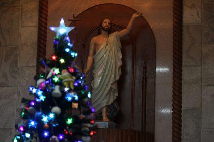 Imagen de iglesia en Navidad; así se vivió la Navidad en la cuna del Estado Islámico, en Irak