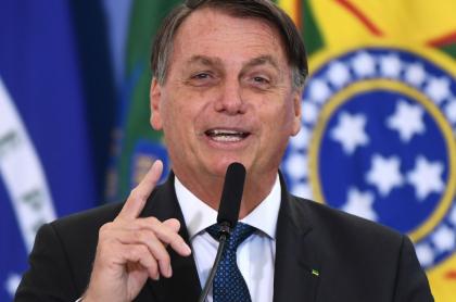 Jair Bolsonaro, presidente de Brasil, quien otorgó un indulto general a militares y policías presos por matar en cumplimiento de sus funciones.