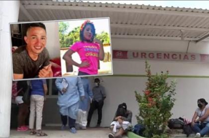 Carlos Rodríguez, señalado de apuñalar a su novia Karol Dayana De Alba, y luego suicidarse en Malambo.
