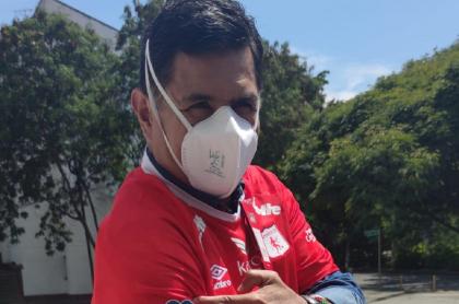 Jorge Iván Ospina, alcalde de Cali, que reprochó que el partido de América contra Santa Fe no fuera por televisión abierta para evitar aglomeraciones