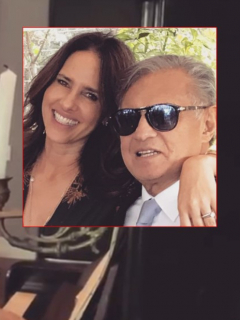 Paola Turbay le manda un triste mensaje a su padre Gabriel Turbay luego de su muerte.