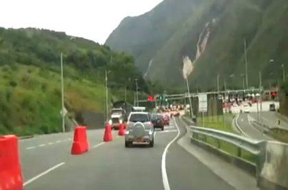 Peaje El Naranjal, el segundo entre Bogotá y Villavicencio.