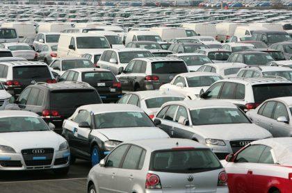 Foto de vehículos ilustra nota sobre los autos más vendidos en el 2020