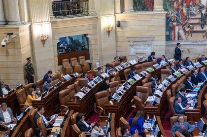 Panorámica general del Congreso de la República.
