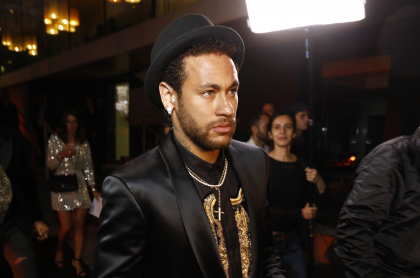 Imagen de Neymar, quien respondió por presunta rumba masiva de fin de año