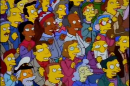 En un episodio de Los Simpson puede verse cómo los habitantes de Springfield se pasarán el fin del 2020.