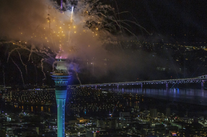 Año Nuevo 2021: así se celebró en el otro lado del mundo