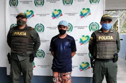 Imagen del arrestado; condenan a 17 años de cárcel a hombre que asesinó a anciano