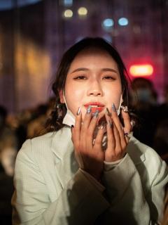 Así celebró Wuhan (China) la llegada de 2021, sin coronavirus.