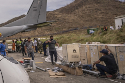 Algunos uniformados se habrían apropiado de ayudas humanitarias dirigidas a damnificados del huracán Iota en San Andrés.