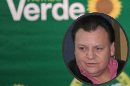 Partido Alianza Verde y uno de sus dirigentes, Jorge Achury, que falleció