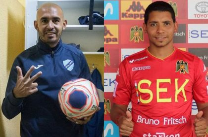Riquelme y Palacios, los  dos delanteros que podrían llegar a Nacional en 2021.