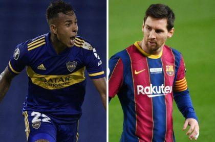 Sebastián Villa, quien fue comparado con Lionel Messi y Diego Maradona por el periodista argentino Federico Bulos