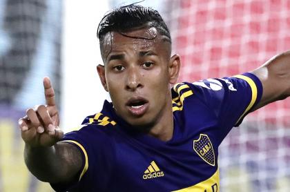 Costa Febre se disculpa por racismo hacia Sebastián Villa. Imagen de referencia del futbolista colombiano.