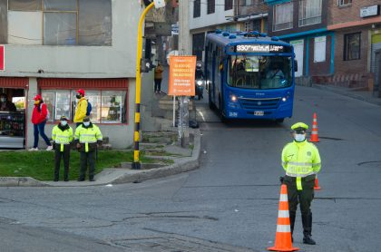 Así funcionará Bogotá en la cuarentena por localidades de Suba, Engativá y Usaquén.