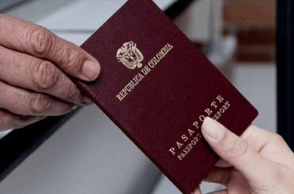 Pasaporte colombiano, nuevas tarifas en 2021
